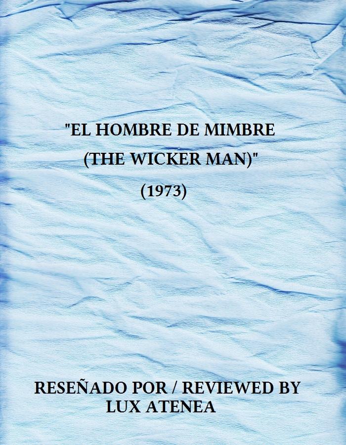 el hombre de mimbre the wicker man 1973