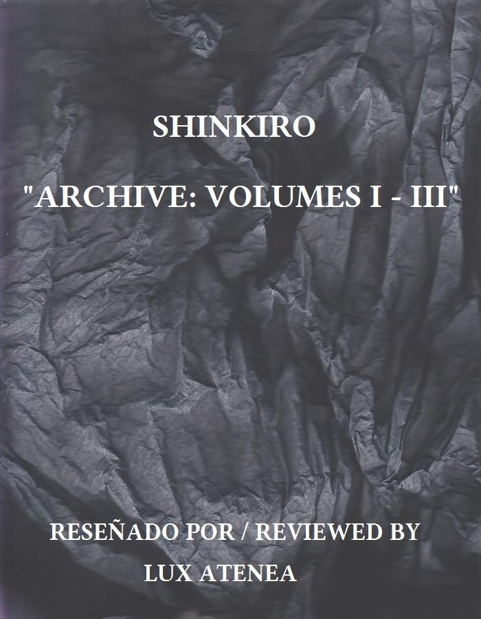 shinkiro – archive volumes i - iii