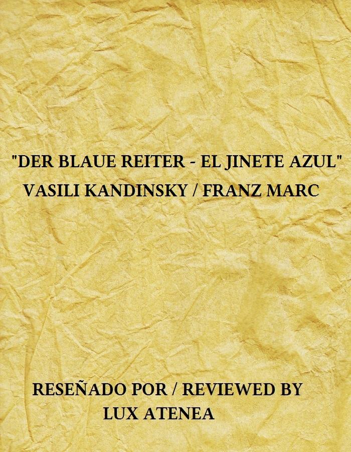 DER BLAUE REITER EL JINETE AZUL KANDINSKY