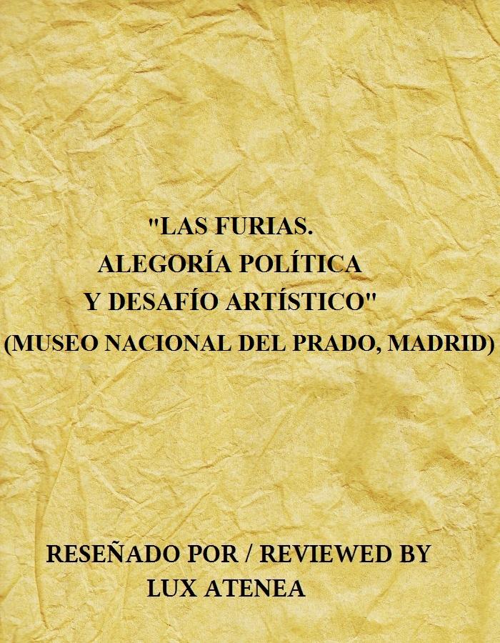 Las Furias Alegoria Politica y Desafio Artistico Museo del Prado