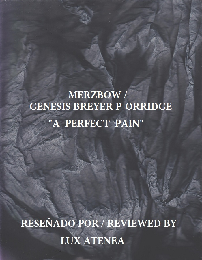 MERZBOW GENESIS BREYER P-ORRIDGE - A PERFECT PAIN