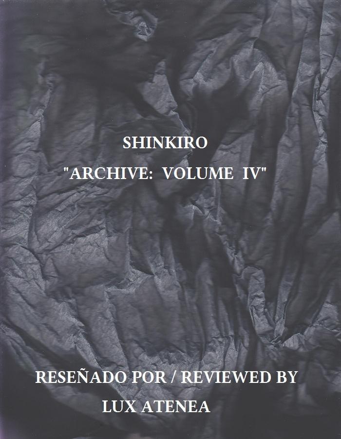 SHINKIRO ARCHIVE VOLUME IV