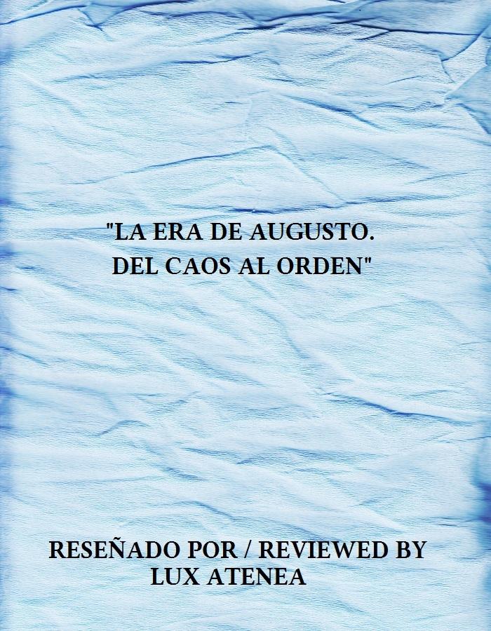 LA ERA DE AUGUSTO DEL CAOS AL ORDEN DVD