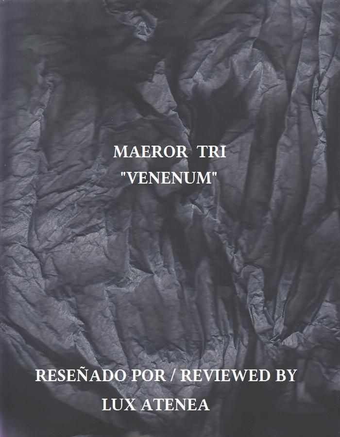 Maeror Tri – Venenum INFINITE FOG