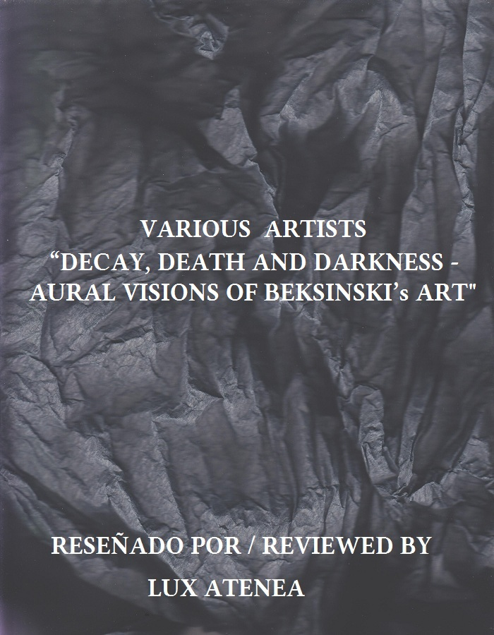 VARIOUS ARTISTS - DECAY, DEATH AND DARKNESS