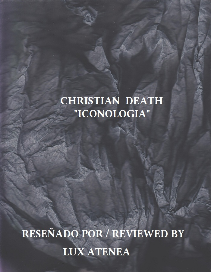 CHRISTIAN DEATH - ICONOLOGIA
