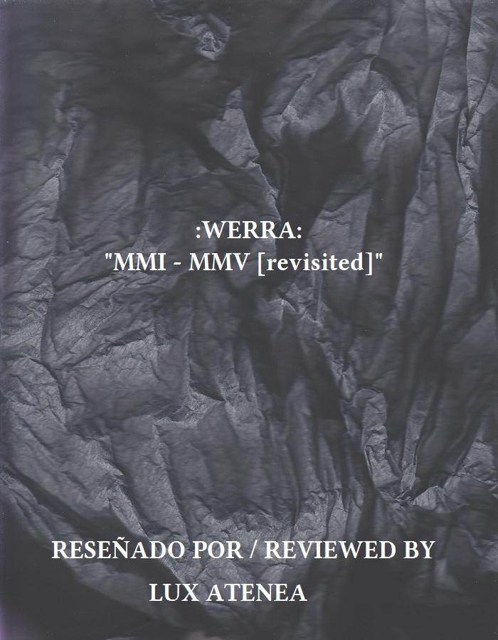 WERRA - MMI - MMV [revisited]