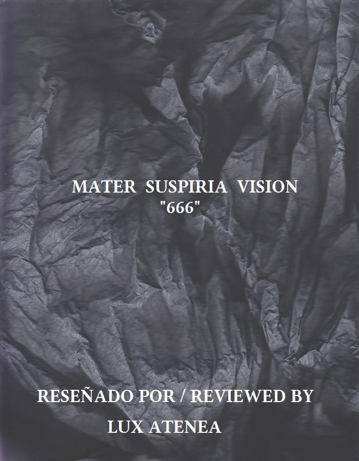 MATER SUSPIRIA VISION - 666