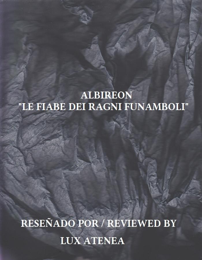 ALBIREON - LE FIABE DEI RAGNI FUNAMBOLI