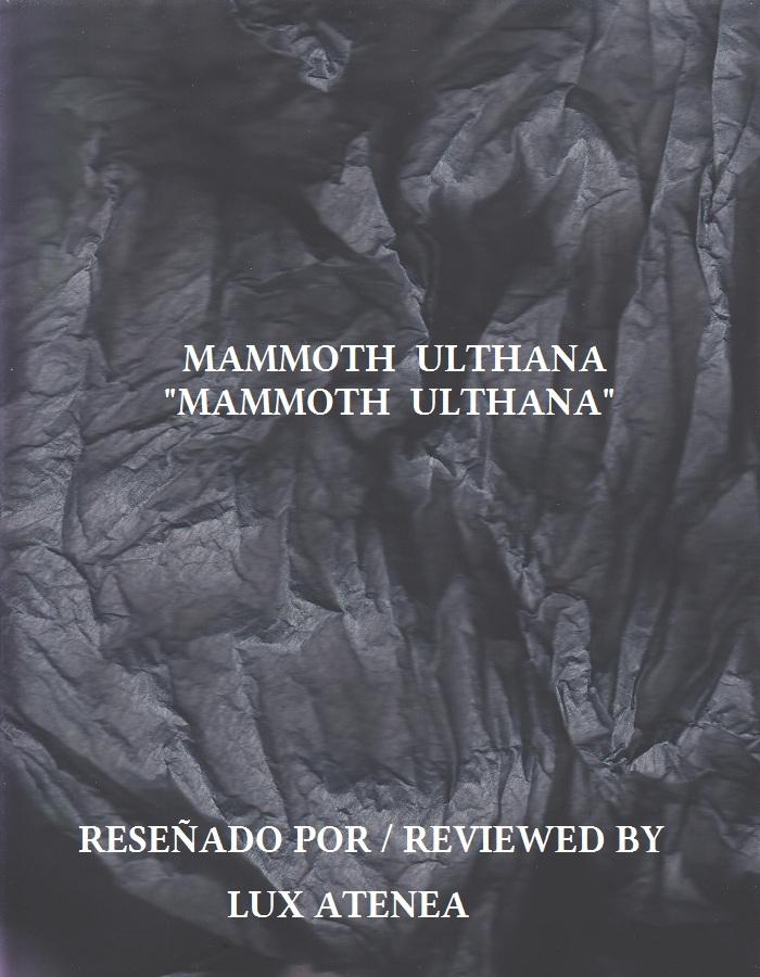 MAMMOTH ULTHANA - MAMMOTH ULTHANA
