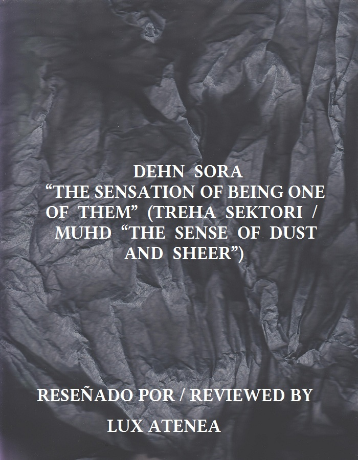 DEHN SORA THE SENSATION OF BEING ONE OF THEM