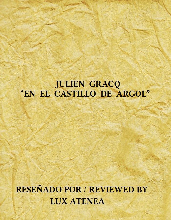 JULIEN GRACQ - EN EL CASTILLO DE ARGOL