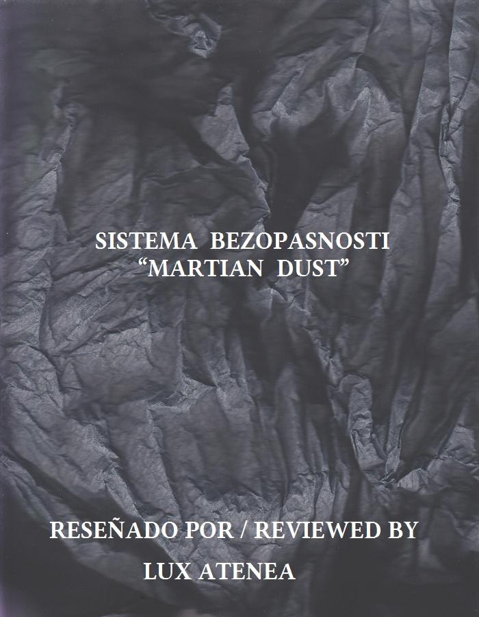 SISTEMA BEZOPASNOSTI - MARTIAN DUST