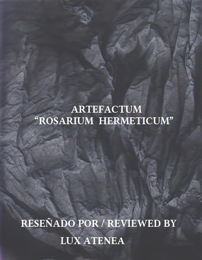 ARTEFACTUM - ROSARIUM HERMETICUM