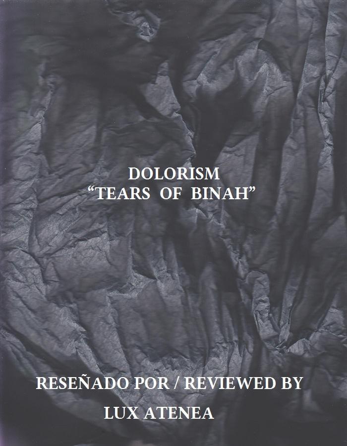DOLORISM - TEARS OF BINAH