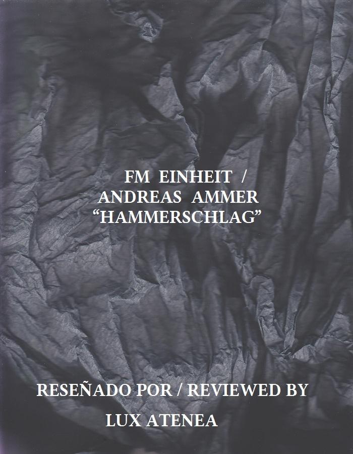 FM EINHEIT ANDREAS AMMER - HAMMERSCHLAG