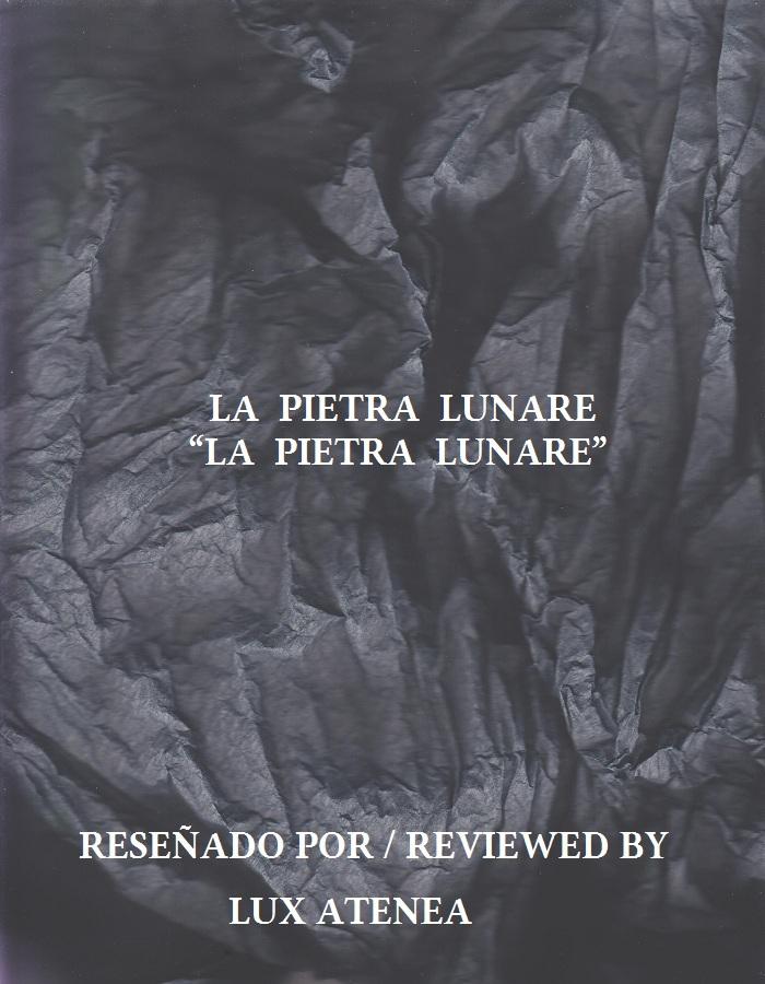 LA PIETRA LUNARE - LA PIETRA LUNARE