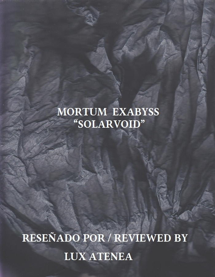 MORTUM EXABYSS - SOLARVOID