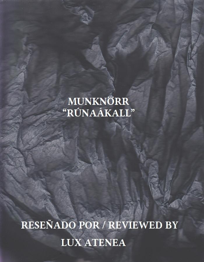 MUNKNÖRR - RÚNAÁKALL