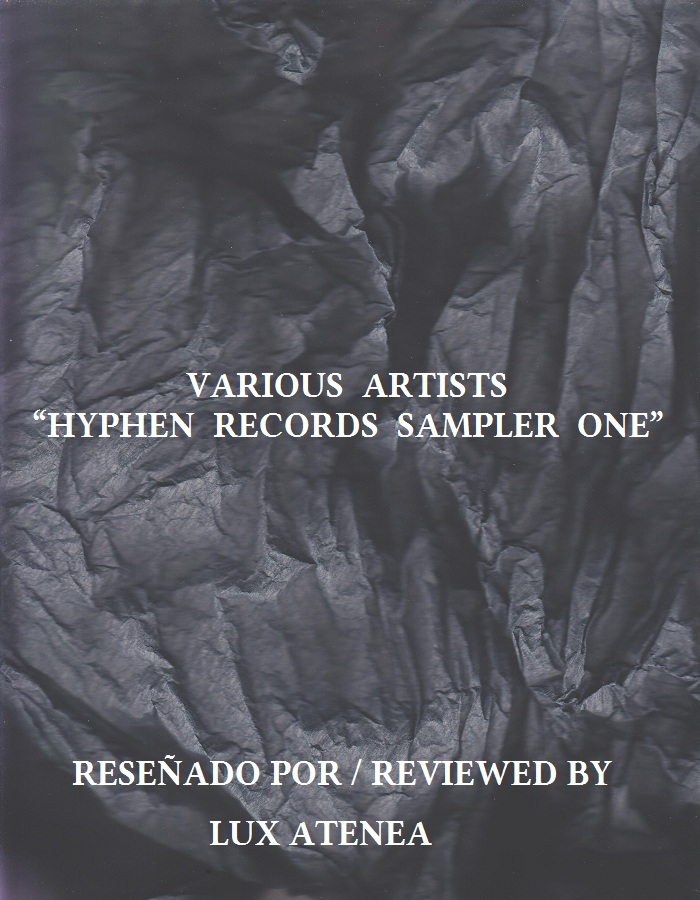 VARIOUS ARTISTS - HYPHEN RECORDS SAMPLER ONE