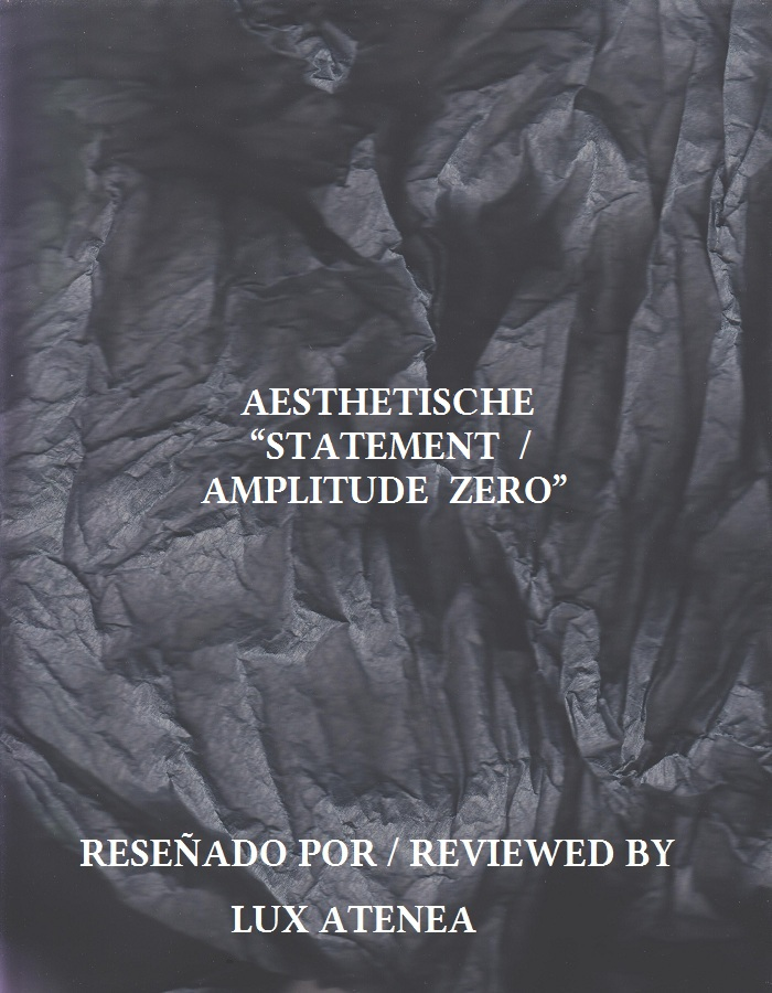 AESTHETISCHE - STATEMENT AMPLITUDE ZERO