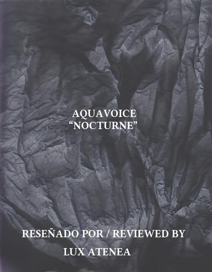 AQUAVOICE - NOCTURNE