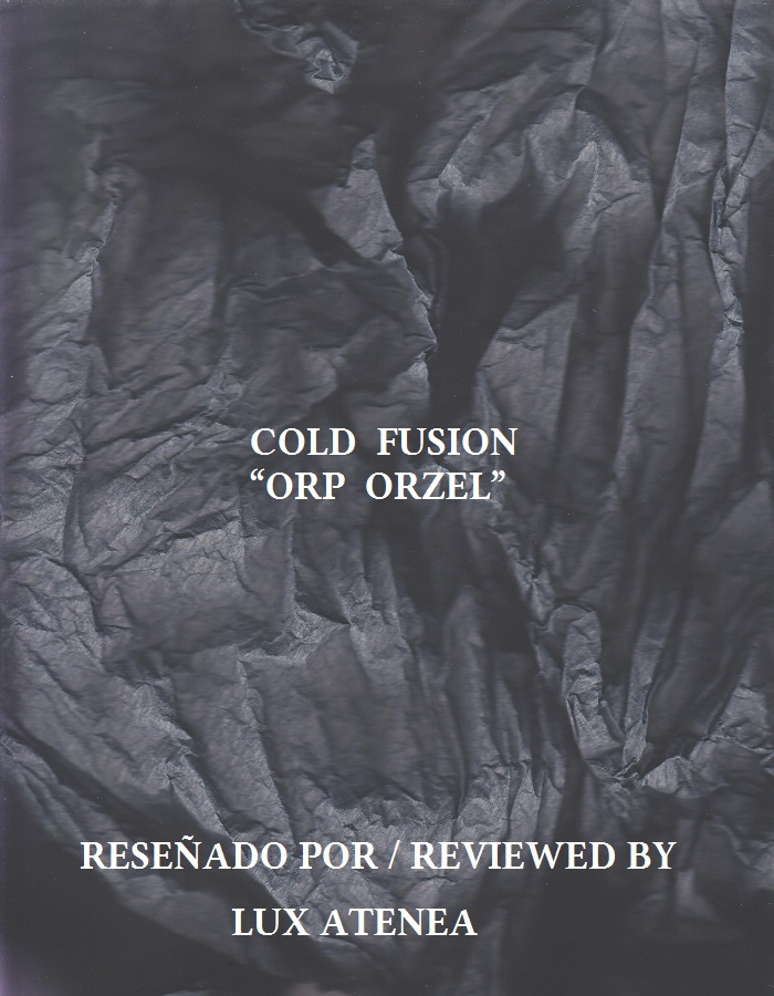 COLD FUSION - ORP ORZEL