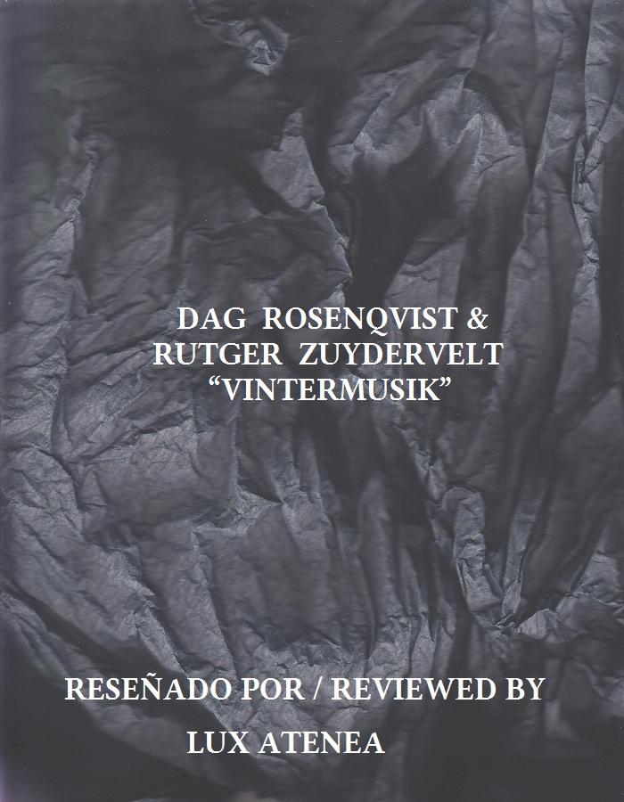 DAG ROSENQVIST RUTGER ZUYDERVELT - VINTERMUSIK