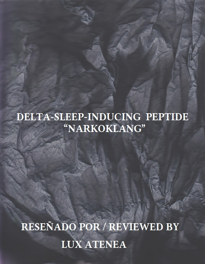 DELTA-SLEEP-INDUCING PEPTIDE - NARKOKLANG