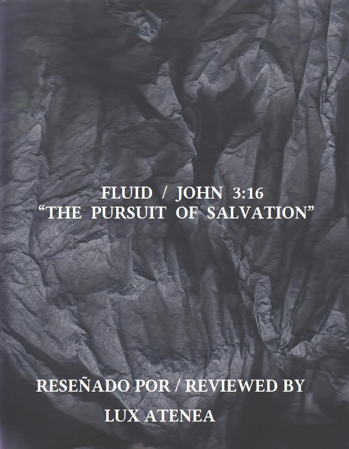FLUID JOHN 3 16 - THE PURSUIT OF SALVATION