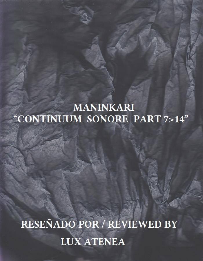 MANINKARI - CONTINUUM SONORE PART 7 14