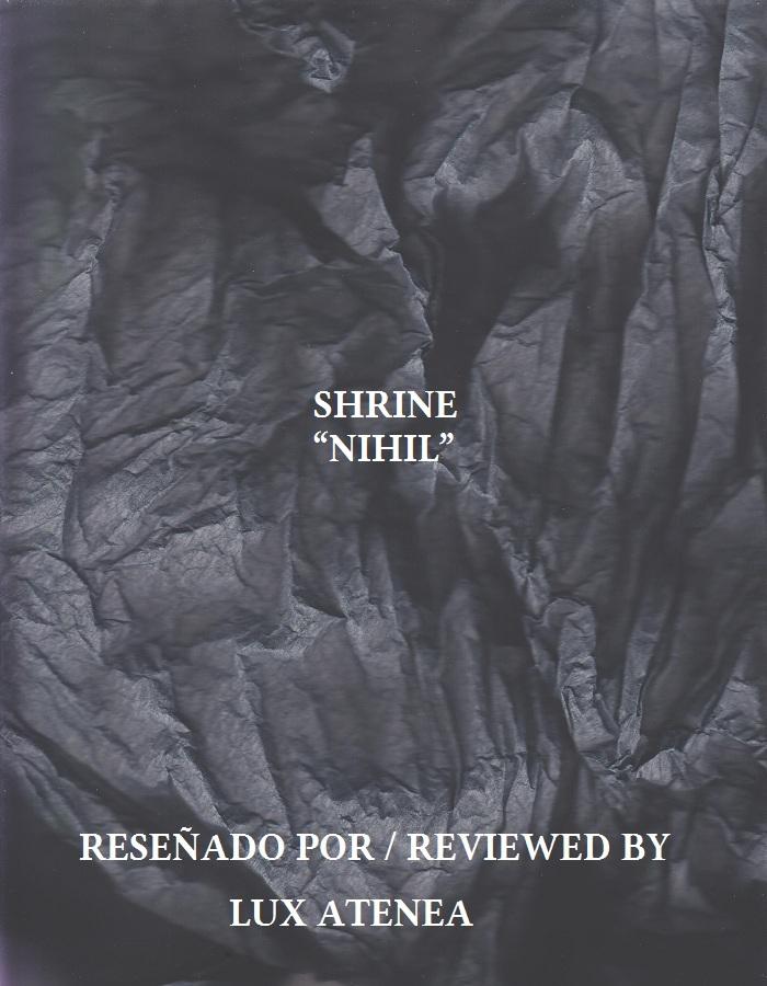 SHRINE - NIHIL