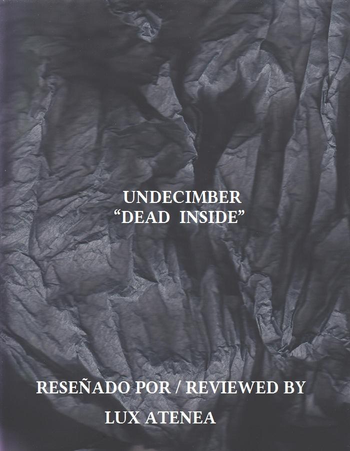 UNDECIMBER - DEAD INSIDE