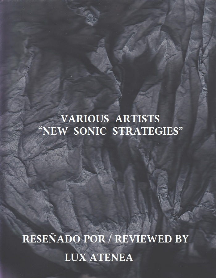VARIOUS ARTISTS - NEW SONIC STRATEGIES
