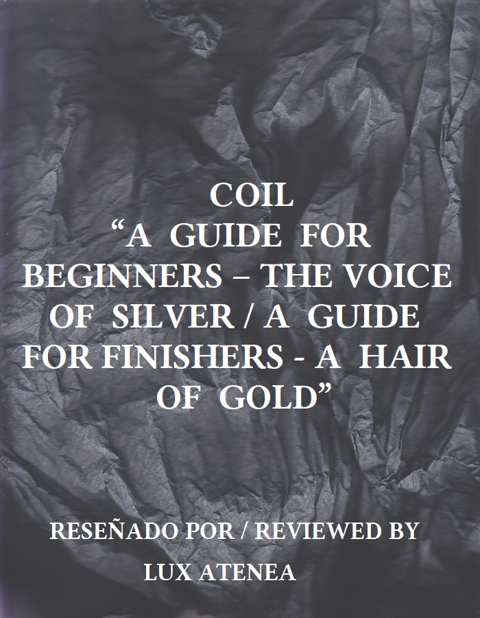 Coil a guide for beginners the voice of silver a guide for finishers a hair of gold
