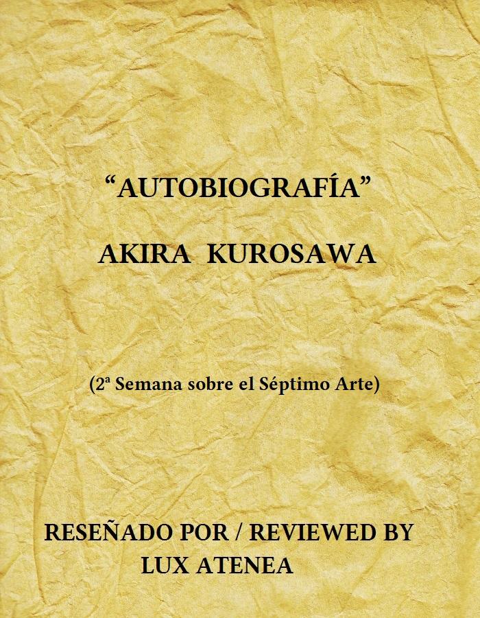 AUTOBIOGRAFÍA AKIRA KUROSAWA