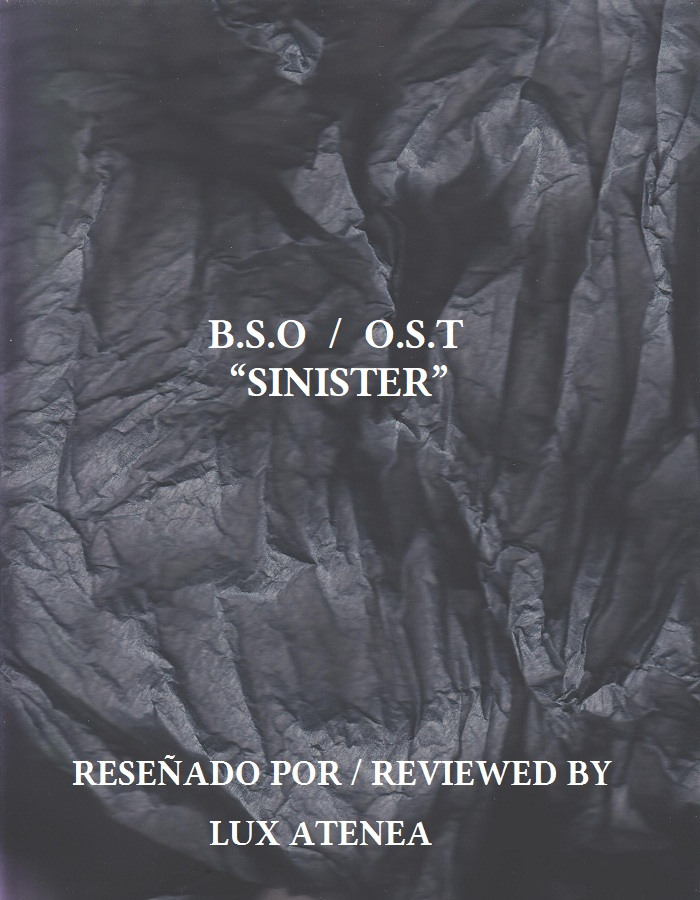 BSO OST SINISTER
