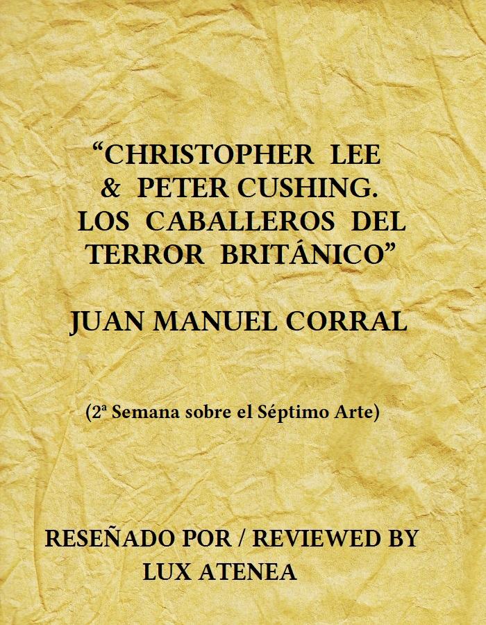 CHRISTOPHER LEE PETER CUSHING LOS CABALLEROS DEL TERROR BRITÁNICO