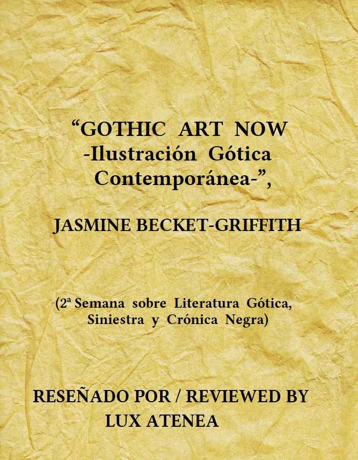 GOTHIC ART NOW JASMINE BECKET-GRIFFITH
