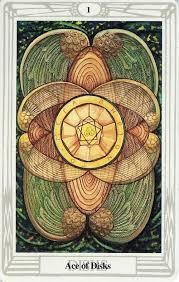 Tarot de Thoth As de oros