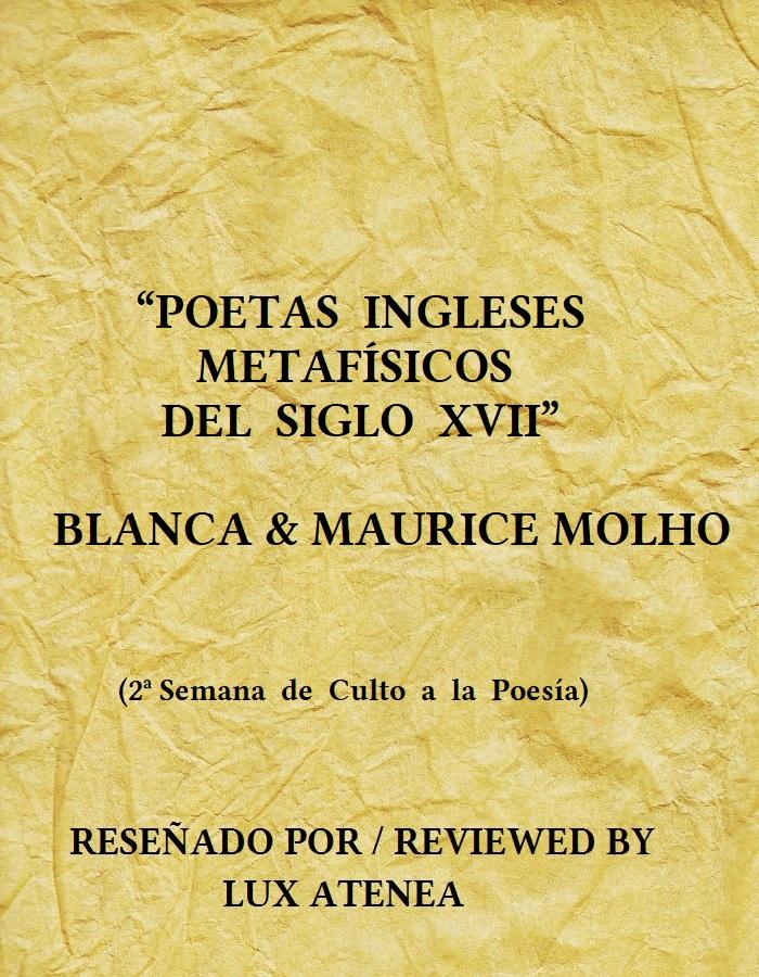 POETAS INGLESES METAFISICOS DEL SIGLO XVII