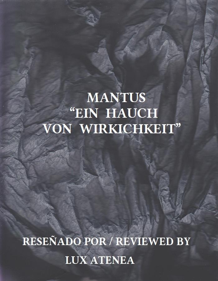 MANTUS - EIN HAUCH VON WIRKICHKEIT