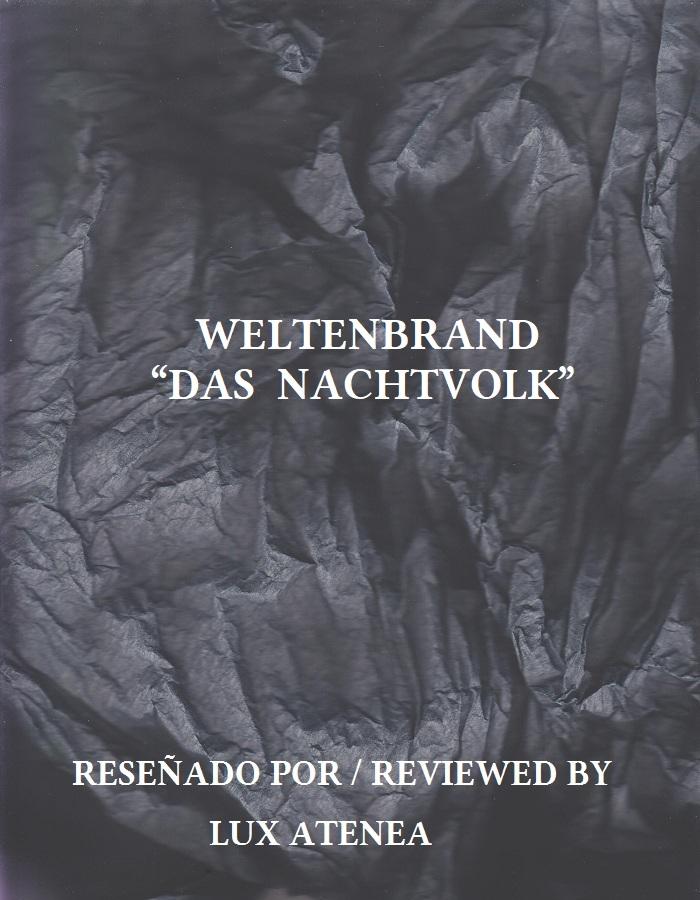 WELTENBRAND - DAS NACHTVOLK