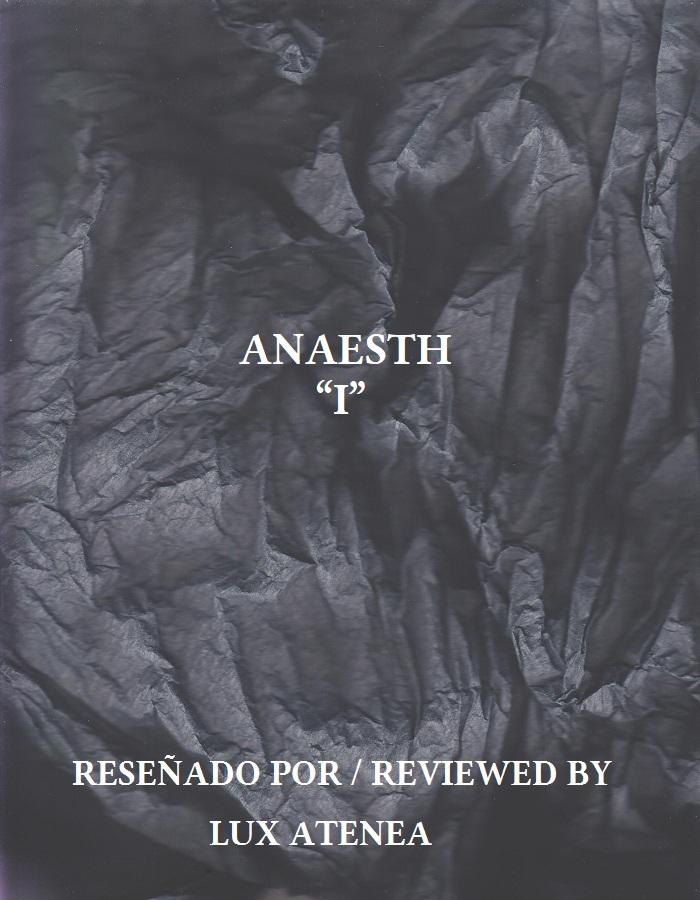 ANAESTH - I