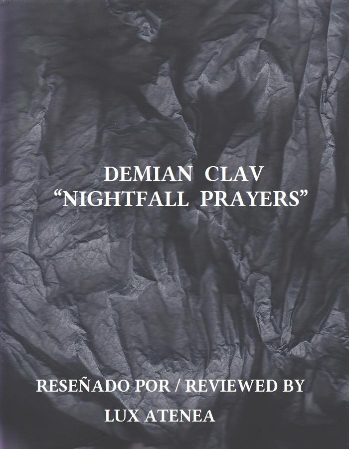 DEMIAN CLAV - NIGHTFALL PRAYERS